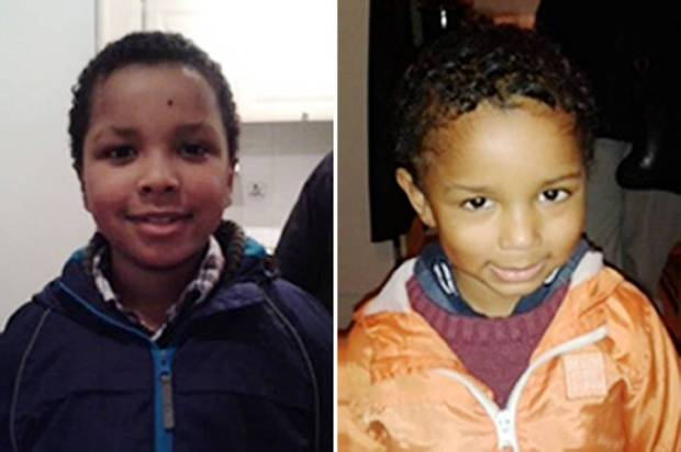 BEST QUALITY AVAILABLE Undated handout photo issued by Metropolitan Police of Zachary, eight, and four year old Amon (right) from Bexley who have gone missing with their mother, Sian Blake from from Erith, Kent. PRESS ASSOCIATION Photo. Issue date: Friday January 1, 2016. Sian, 43, was last seen on Sunday 13 December in Waltham Forest area with her children. See PA story POLICE Missing. Photo credit should read: Metropolitan Police/PA Wire NOTE TO EDITORS: This handout photo may only be used in for editorial reporting purposes for the contemporaneous illustration of events, things or the people in the image or facts mentioned in the caption. Reuse of the picture may require further permission from the copyright holder.